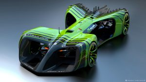 Image by Chief Design Officer Daniel Simon / Roborace Ltd.