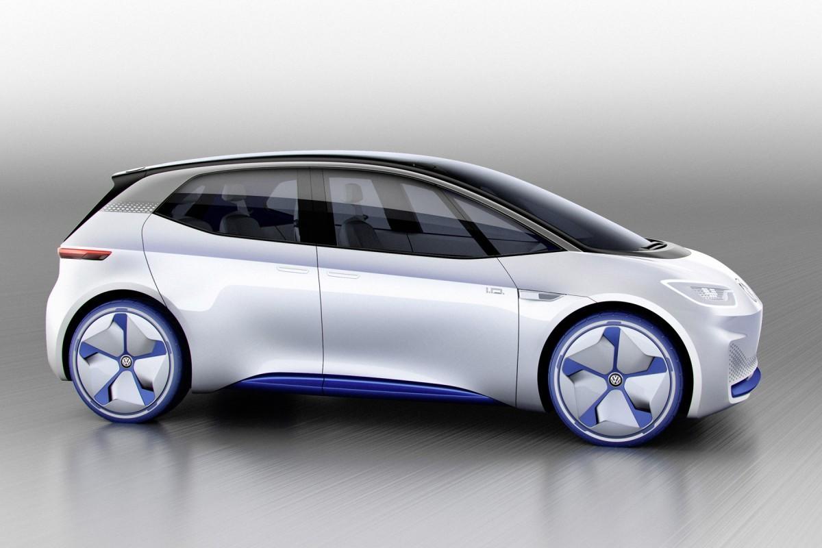 Volkswagen I.D side